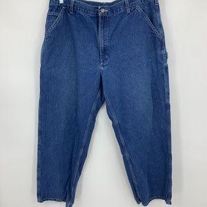 Carhartt mens jeans 40 30 original dungaree fit